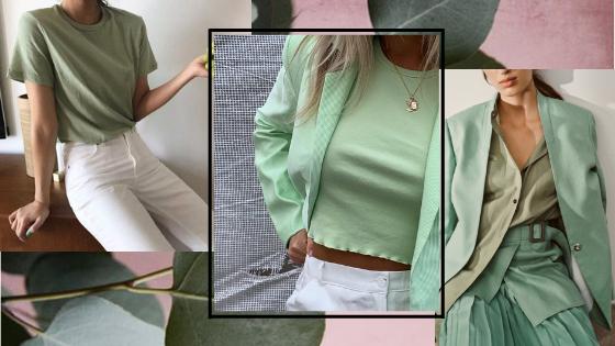 Summer 2019 trend:green